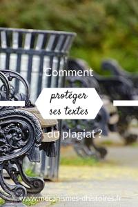 Protéger ses textes du plagiat (Pinterest)