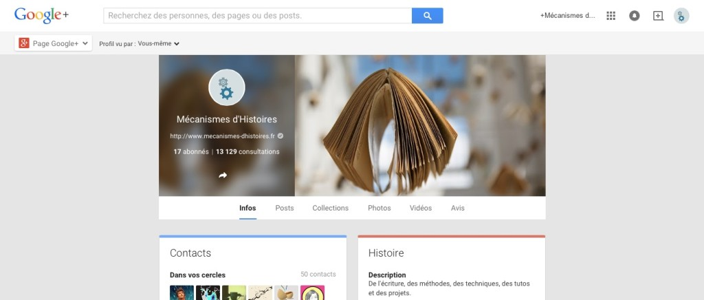 google + profil