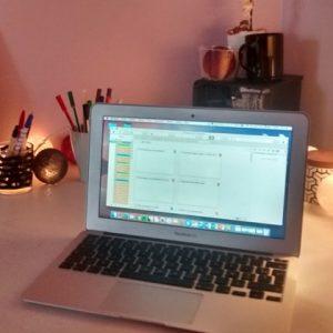 Mon espace de travail pour écrire - Article