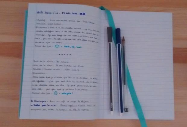 Faire un journal d'écrivain pour mieux écrire - Image