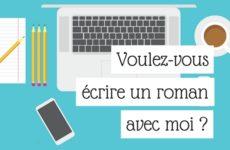 Voulez vous écrire un roman avec moi - Article