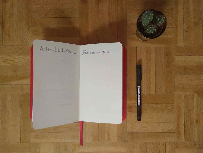 Idées d'articles - bullet journal mai 2018 - Mécanismes d'Histoires