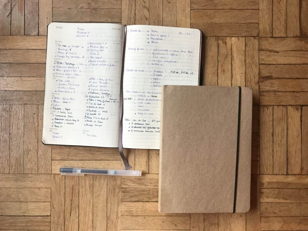 Mon organisation 2021 – mes outils